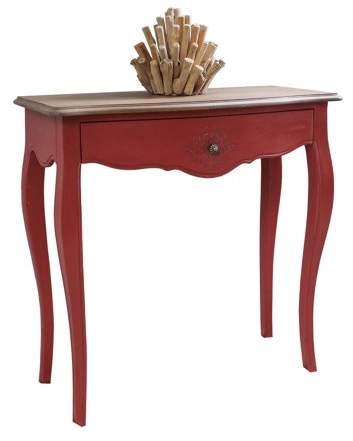 International Caravan Ashbury Stradivarius Oak Veneer One-drawer Console Table