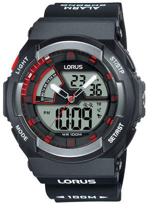 Lorus Sports Black Watch