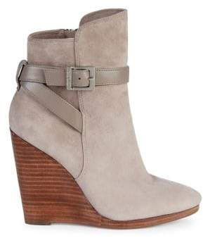 Charles by Charles David Hades Suede Wedge Booties