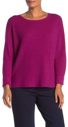 Eileen Fisher Scoop Neck Dolman Merino Wool Sweater