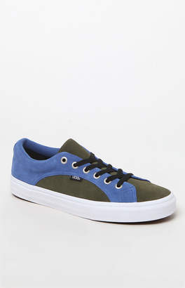 Vans Suede Blue & Green Lampin Shoes
