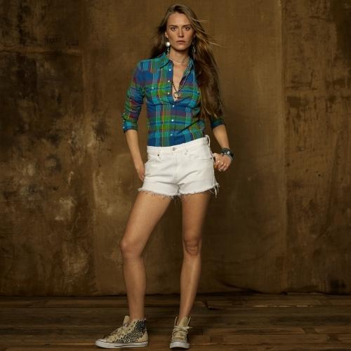 Denim & Supply Ralph Lauren Plaid Cowgirl Shirt