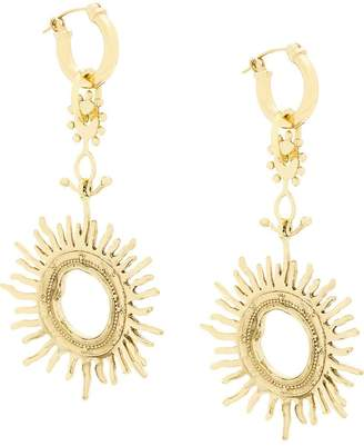 Ellery Strangerland large sun earrings