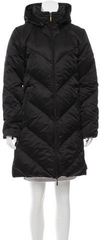 Moncler Moncler Puffer Hooded Coat
