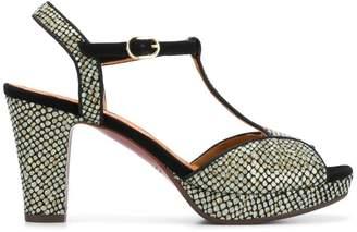 Chie Mihara metallic open-toe sandals