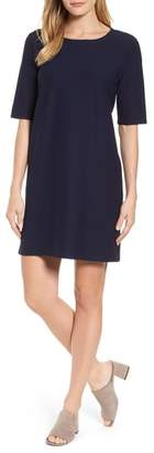 Eileen Fisher Stretch Knit Shift Dress