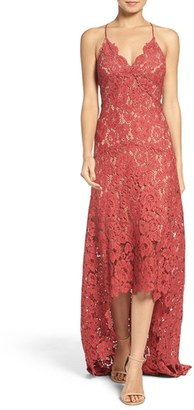 Tracy Reese Lace High/Low Gown $498 thestylecure.com