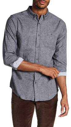 Ezekiel Holmes Woven Long Sleeve Regular Fit Shirt