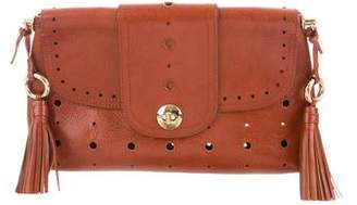 Marc Jacobs Leather Embossed Clutch