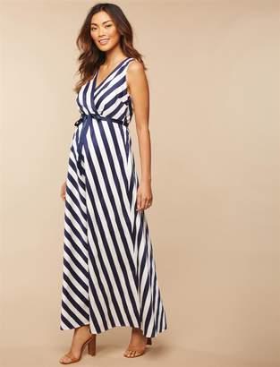 Jessica Simpson Motherhood Maternity Sash Belt Maternity Dress