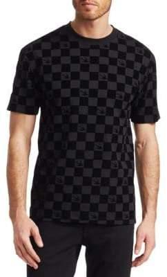 McQ Dropped Shoulder Checker T-Shirt