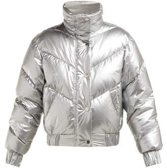 Cordova The Snowbird Quilted Down Jacket - Womens - Silver
