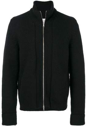 Maison Margiela zipped knitted sweater