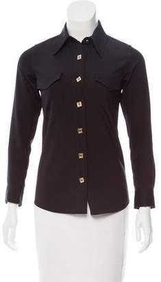Reed Krakoff Silk-Blend Button-up
