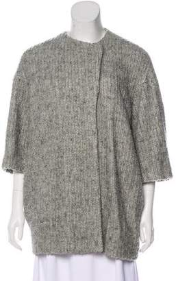 Alice + Olivia Knit Long Sleeve Jacket