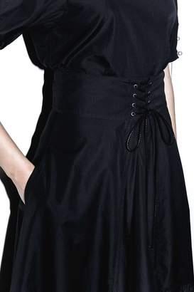 3.1 Phillip Lim Corseted-Waist Skirt