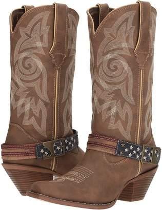 Durango Crush 12 Flag Acessory Strap Cowboy Boots