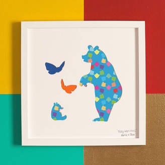 Bertie & Jack 'Teddy Bears Picnic' Children's Gift Artwork