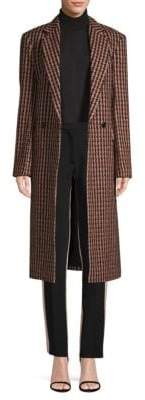 Derek Lam Tailored Houndstooth Coat
