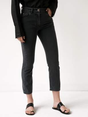 New View Nanushka Sachi Straight Leg Jean