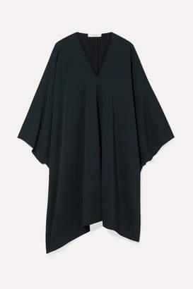 The Row Iona Stretch-crepe Dress - Emerald