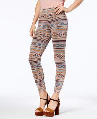 First Looks Women's Geo-Print Stripe Seamless Leggings, Created for Macy's