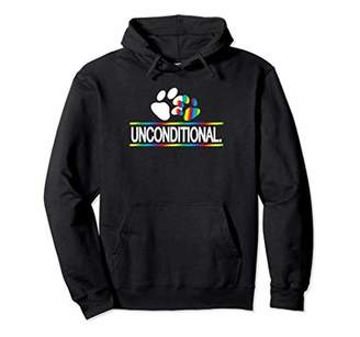 LGBT Gay Rights-Unconditional Love For Your Child Parent Pullover Hoodie