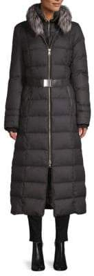 Soia & Kyo Fox Fur Down Coat
