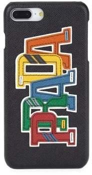 Prada Rainbow Leather IPhone 7 Plus Case