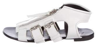 Giuseppe Zanotti Leather Multi-Strap Sandals