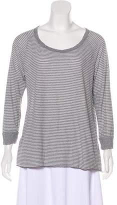 James Perse Striped Long Sleeve Top