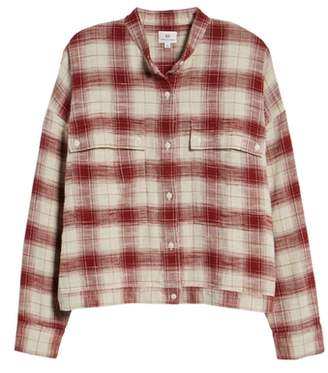 AG Jeans Smith Plaid Shirt Jacket