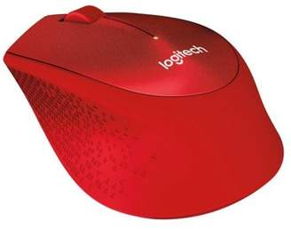 Logitech M330 Silent Plus Wireless Mouse - Red