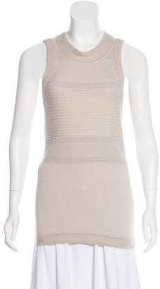 Ohne Titel Sleeveless Textured Knit Top