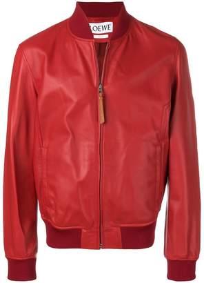 Loewe bomber leather jacket