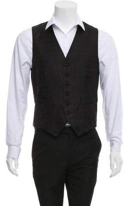 Barneys New York Barney's New York Silk Suit Vest