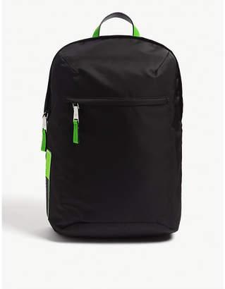 Prada Fluorescent nylon backpack