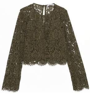 Diane von Furstenberg Yeva Corded Lace Top