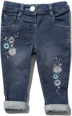 M&Co Daisy embroidered jeans