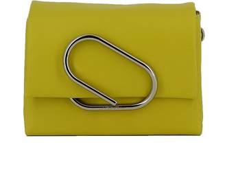 3.1 Phillip Lim Chartreuse Leather Shoulder Bag