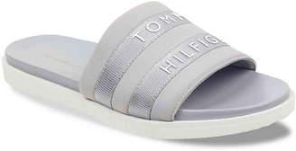 Tommy Hilfiger Script Slide Sandal - Women's