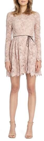 Lace Minidress