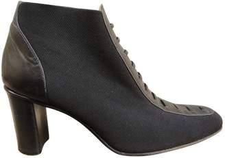 Charles Jourdan Leather Ankle Boots