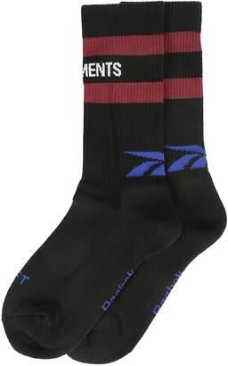 Vetements Intarsia Logo Socks