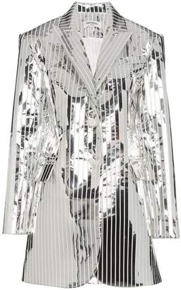 Matériel Space stripe stretch blazer