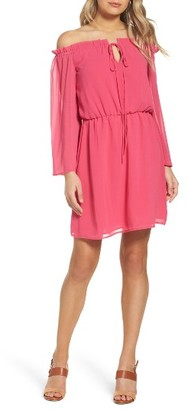 Women's Charles Henry Blouson Dress $89 thestylecure.com