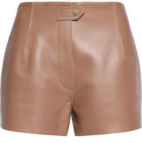 Belstaff Batley Leather Shorts
