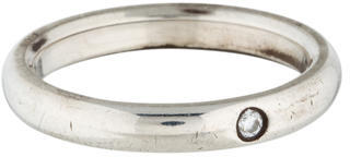 Tiffany & Co. Diamond Stacking Ring $225 thestylecure.com