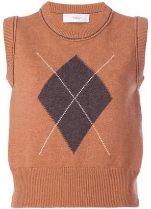 Pringle heritage knitted vest
