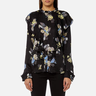 Gestuz Women's Aia Flower Printed Blouse